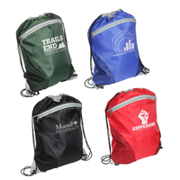 Cyclone Mesh Curve Drawstring Backpack