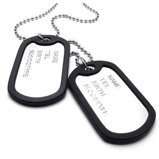 Military Dog Tags