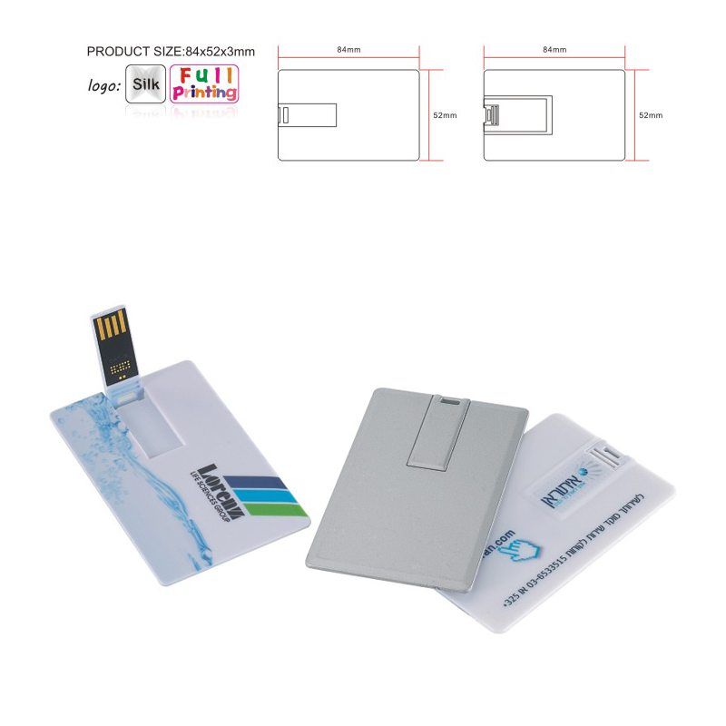 Flip Business Card USB Flash Drive
