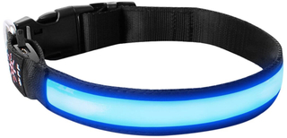 USB Rechargeable Waterproof LED Dog Collar
