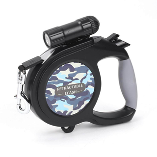 Retractable Dog Leash Lead with LED Light