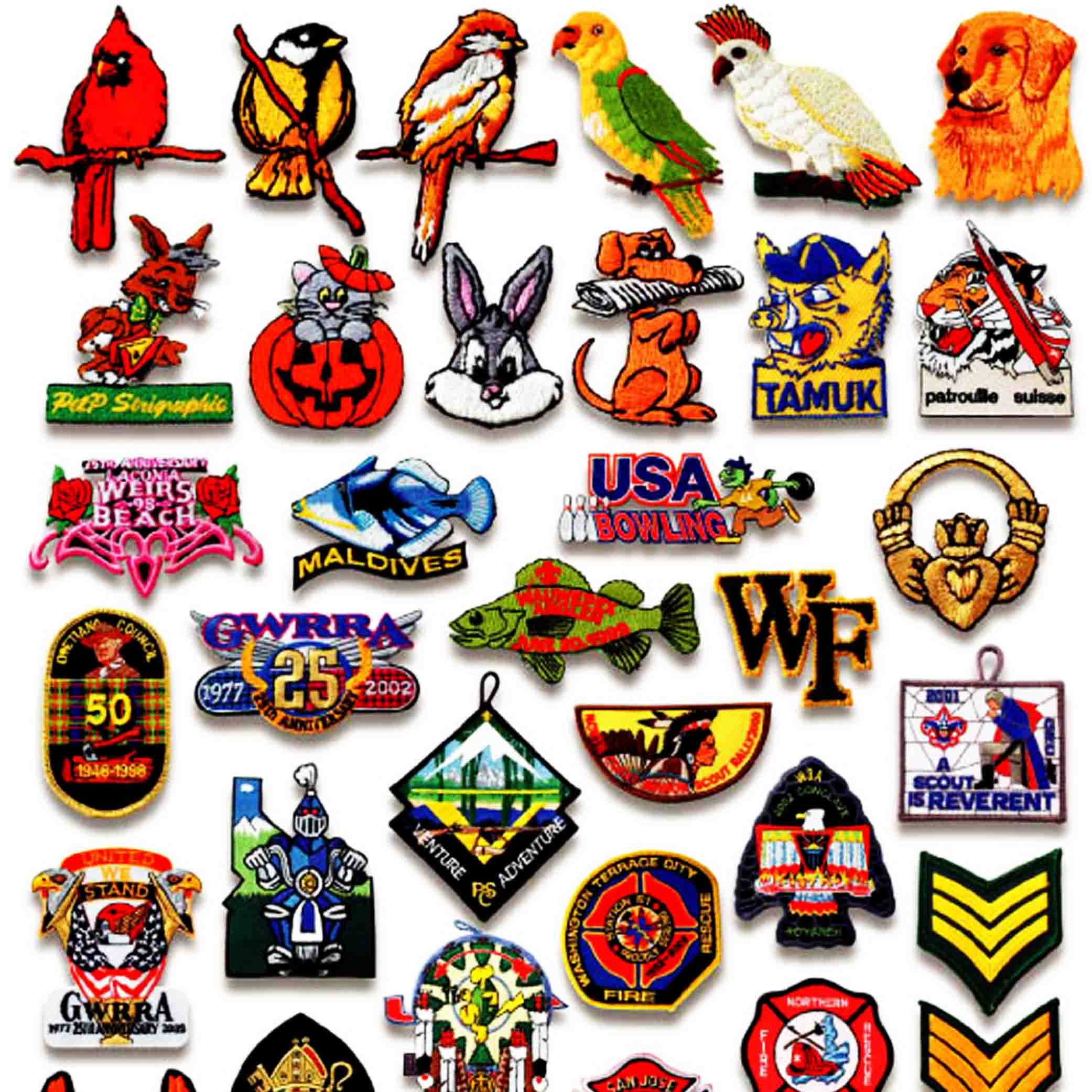 Brand Patches