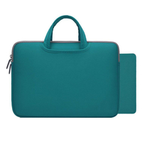 Neoprene Laptop Bag Sleeve with Handle Zipper