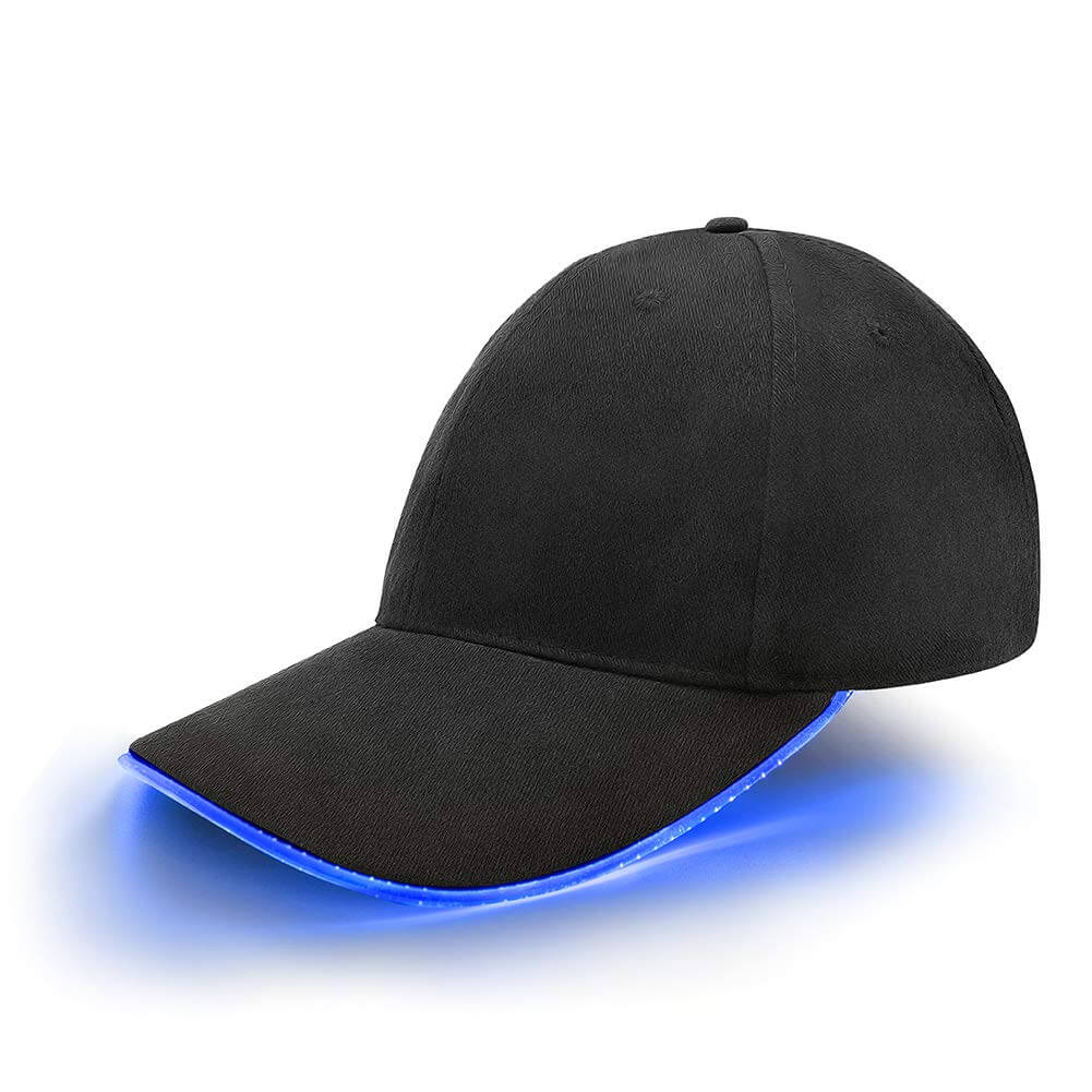 LED Hat Glowing Club Party Flashlight Baseball Hip-hop Cap