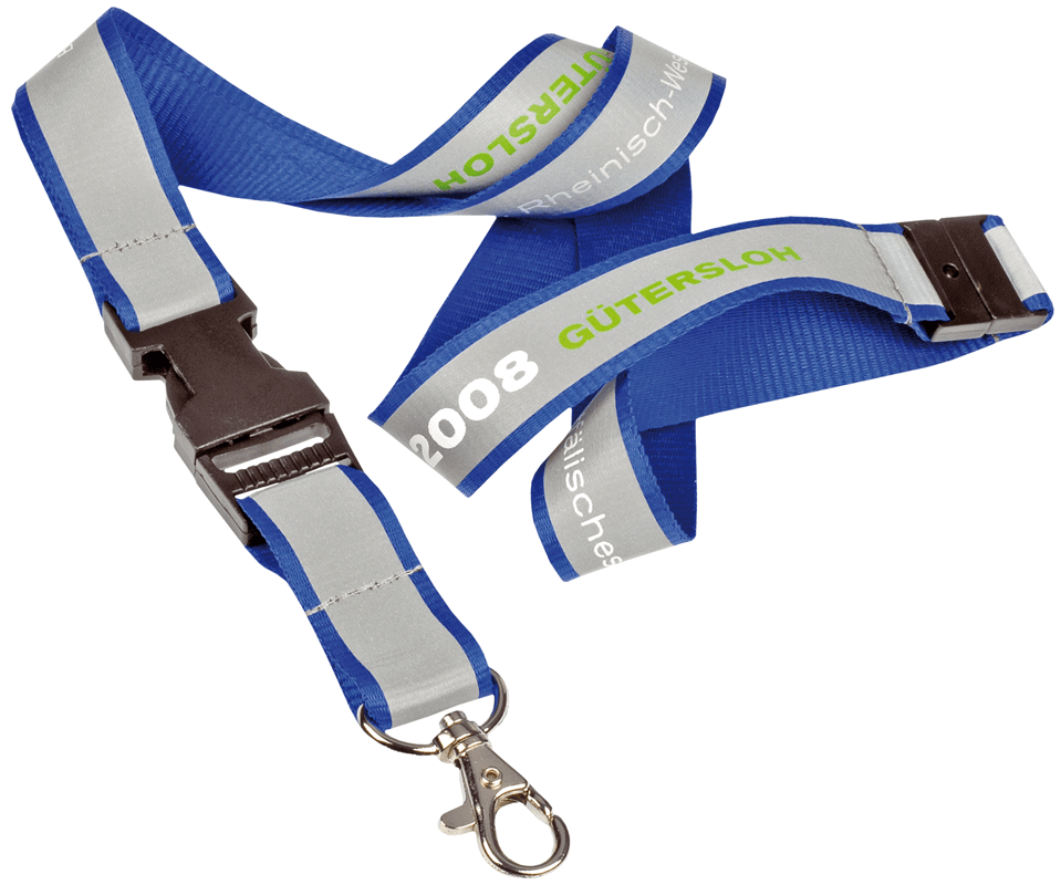 High Viz Printed Lanyards