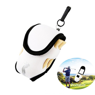 Neoprene Golf Ball Holder Bag Waist Bag