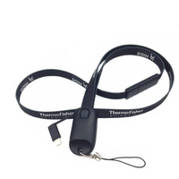 Type-C Breakaway 3 in 1 USB Lanyard Charging Cable